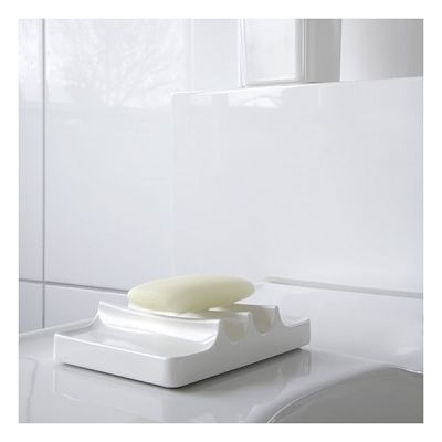 porte savon design blanc kali authentics opt