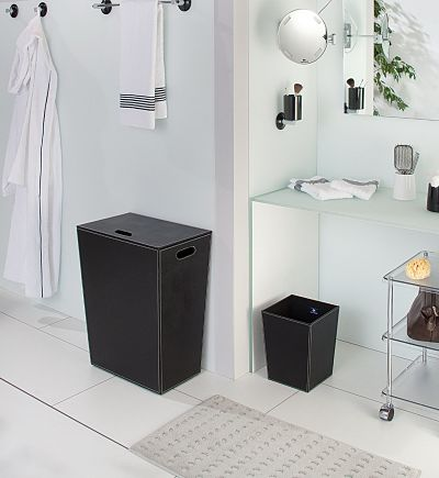 paniers linge pour salle de bains. Black Bedroom Furniture Sets. Home Design Ideas