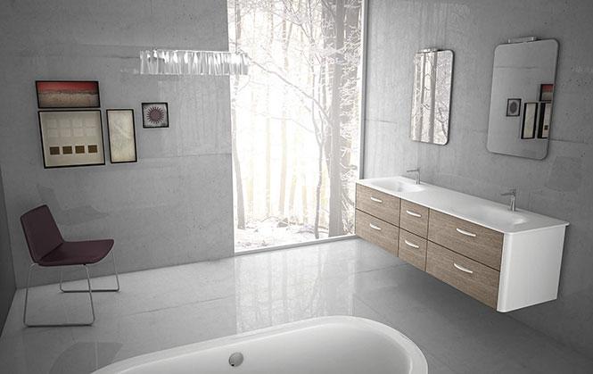 meubles salle de bains. Black Bedroom Furniture Sets. Home Design Ideas