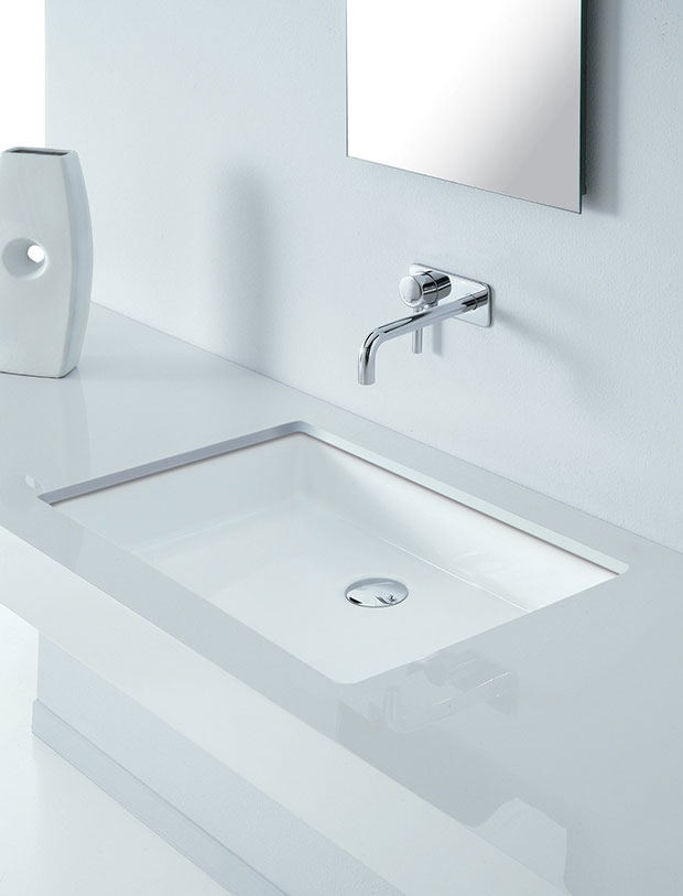 Vasques salle de bains for Vasque sous plan salle de bain