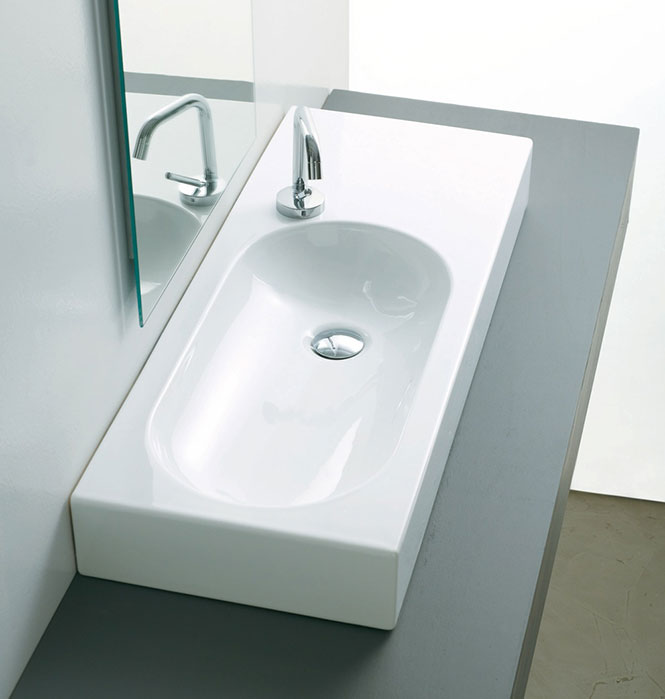 Vasques salle de bains for Poser une vasque salle de bain