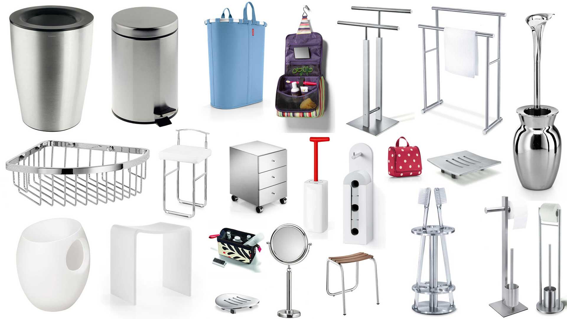 Accessoires divers pour la salle de bains for Accessoires de salle de bain